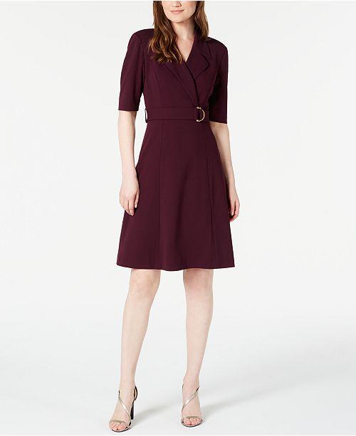 Calvin Klein Belted Blazer Dress