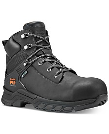 "Timberland PRO Hypercharge-Men's 6"" Composite Safety Toe Waterproof Work Boot"