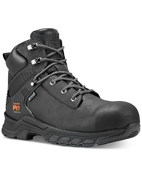 "Timberland Hypercharge-Men's 6"" Composite Safety Toe Waterproof Work Boot"