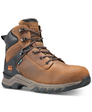 "Timberland Boots PRO HYPERCHARGE-MEN'S 6"" COMPOSITE SAFETY TOE WATERPROOF WORK BOOT MEN'S SHOES"