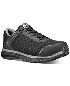 Men's Safety-Toe Industrial Athletic Sneakers