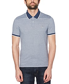 Men's Feeder Stripe Polo Shirt