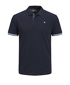Men's Summer Polo Shirt with contrast details