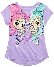 Little Girls Shimmer & Shine T-Shirt
