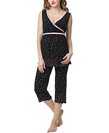 Kimi & Kai Joy Maternity Nursing Pajama Set