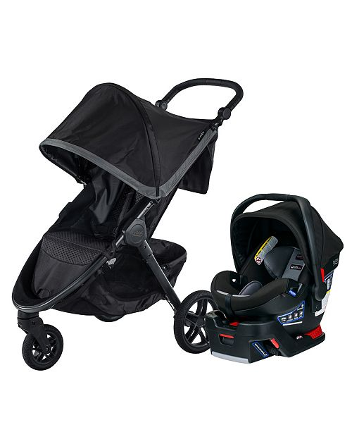 Britax B-Free and B-Safe Ultra Travel System