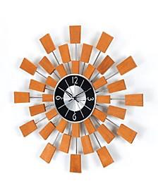 Solid Wood Pixel Clock