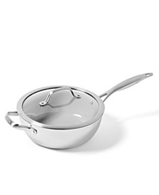 Venice Pro 3.5-Qt. Ceramic Non-Stick Chef's Pan & Lid