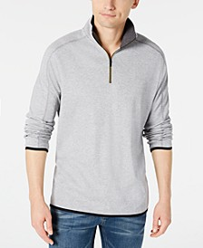 Men's Supima Cotton Quarter-Zip Sweater