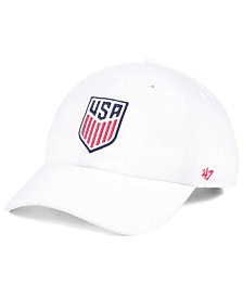 '47 Brand USA Crest CLEAN UP Strapback Cap