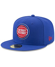 Detroit Pistons Basic 59FIFTY Fitted Cap