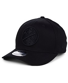 New Era Denver Nuggets Triple Black 9FIFTY Snapback Cap