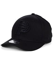 New Era Indiana Pacers Triple Black 9FIFTY Snapback Cap