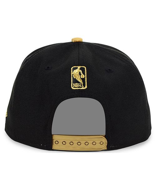 watch deac8 a45fc New Era Indiana Pacers Gold Viz 9FIFTY Cap ...