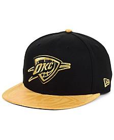 New Era Oklahoma City Thunder Gold Viz 9FIFTY Cap