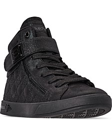 Little Girls Shoutouts High Top Casual Sneakers from Finish Line