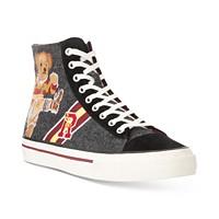 Polo Ralph Lauren Mens Solomon II Ruby Bear Sneakers