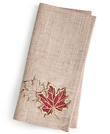 Elrene Metallic Branches Napkin, Set of 4