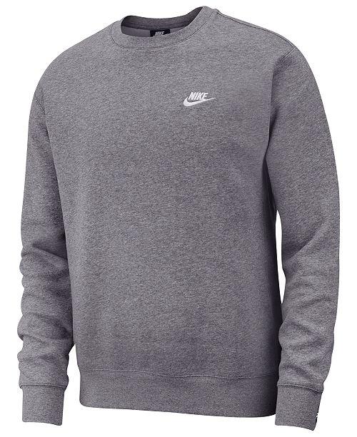 Nike Men's Club Fleece Crew Sweatshirt