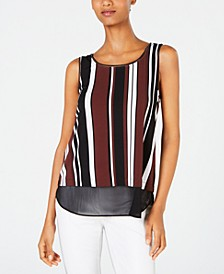 Printed Layered-Look Tank Top, Created for Macy's