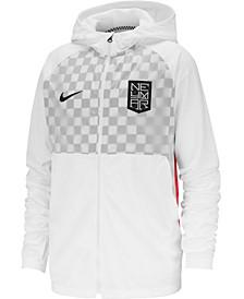 Big Boys Dri-FIT Neymar Jr. Hooded Soccer Jacket