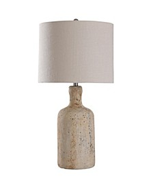 Olney Grey 30in Concrete Body Table Lamp