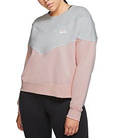 Nike Plus Size Sportswear Heritage Sweatshirt