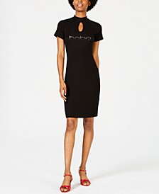 Ombré Logo Dress