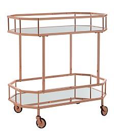 Silva Bar Cart, Quick Ship
