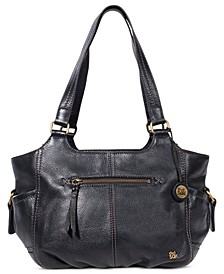 Kendra Leather Shoulder Bag