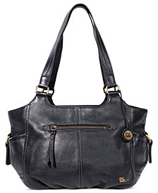The Sak Kendra Leather Shoulder Bag