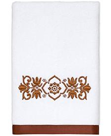 "Scroll Cotton 16"" x 30"" Hand Towel"