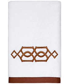 "Geo Cotton 16"" x 30"" Hand Towel"