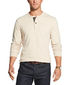 G.H. Bass & Co. Men's Henley Shirt
