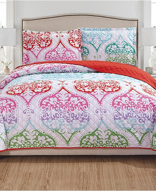 RT Designers Collection Milo 3-Piece Reversible Quilt Set - King