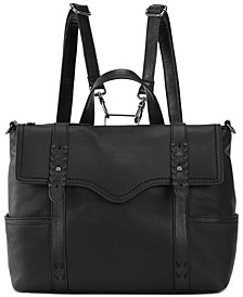Heritage Leather Convertible Backpack