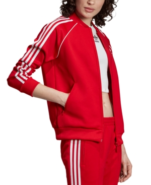 70s Workout Clothes | 80s Tracksuits, Running Shorts, Leotards adidas Originals Adicolor Track Jacket $56.25 AT vintagedancer.com