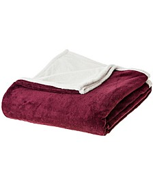 Microsherpa Microplush Reversible Throw Blanket Collection