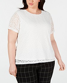 Plus Size Lace Top