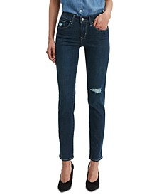 Classic Mid Rise Skinny Jeans