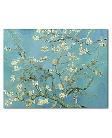 """Courtside Market Van Gogh Cherry Blossoms 20"""" x 24"""" Gallery-Wrapped Canvas Wall Art"""