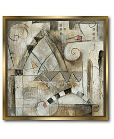 Classica II Canvas Wall Art with Float Moulding Collection
