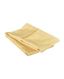 Superior 530 Thread Count Premium Combed Cotton Solid Pillowcase Set - Standard