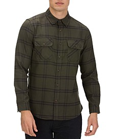 Men's Dri-Fit Salinger Plaid Long Sleeve Shirt