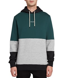 Volcom Men's Colorblocked Logo Hoodie