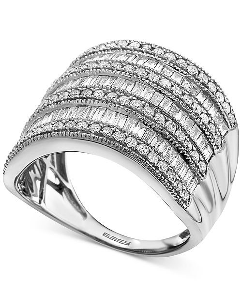 EFFY Collection EFFY® Diamond Multi-Row Statement Ring (1-1/2 ct. t.w.)