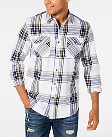 Men's Kane Plaid Shirt, Created for Macy's