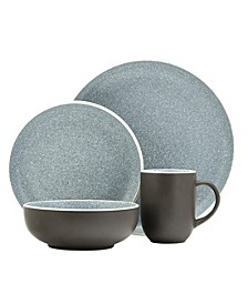 Sango Tailor Granite 16 Piece Dinnerware Set