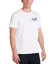 Nautica Men's Blue Sail Marlin Graphic T-Shirt, Created for Macy's