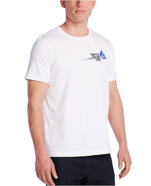 Nautica Men's Blue Sail Marlin Graphic T-Shirt, Created for Macy's